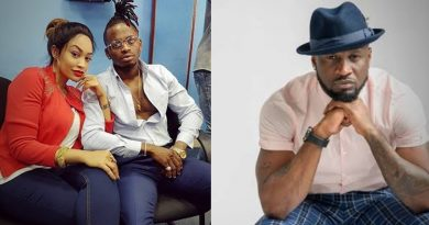 Claims by Tanzania music star, Diamond Platnumz, that he Peter Okoye of the defunct P-Square, also known as Mr P, slept with his wife and crashed his marriage has been reacted to by the Nigerian music star.