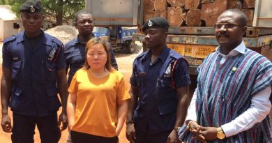 Chinese rosewood suspect on the run