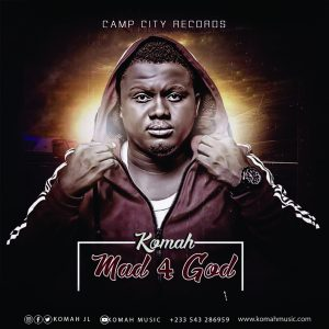kOMAH - mAD FOR GOD FEATURING FORTUNE DANE. PRODUCED BY DIKODER BEATS