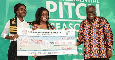 2 KNUST students grab GhC100k as winners of Presidential Pitch