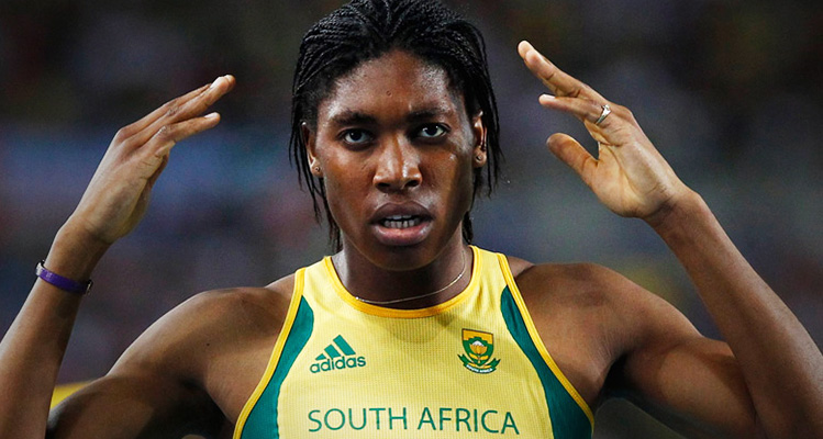 Caster Semenya begins 'new journey' at football club