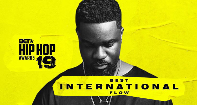 sARKODIE WINS BEST INTERNATIONAL FLOW AT BET 2019 HIP HOP AWARDS