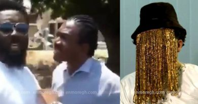 Anas Aremeyaw Anas caught on tape without a mask in a land dispute video?