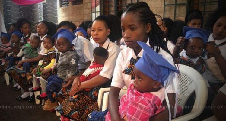 Tanzanian expelled pregnant school girls finally graduate