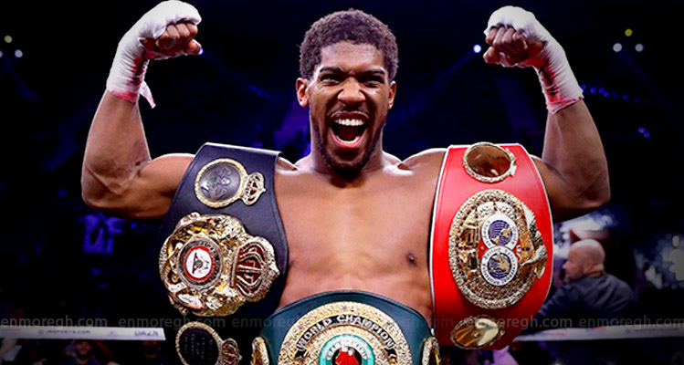 Anthony Joshua beats Andy Ruiz Jr to reclaim heavyweight world titles