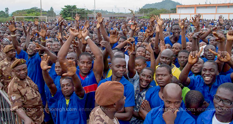 808 prisoners granted Amnesty