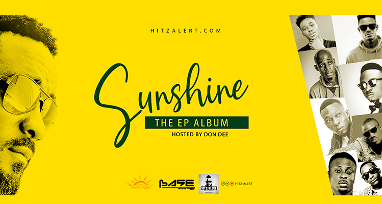 Don Dee outdoors SUNSHINE EP album, first of its kind.
