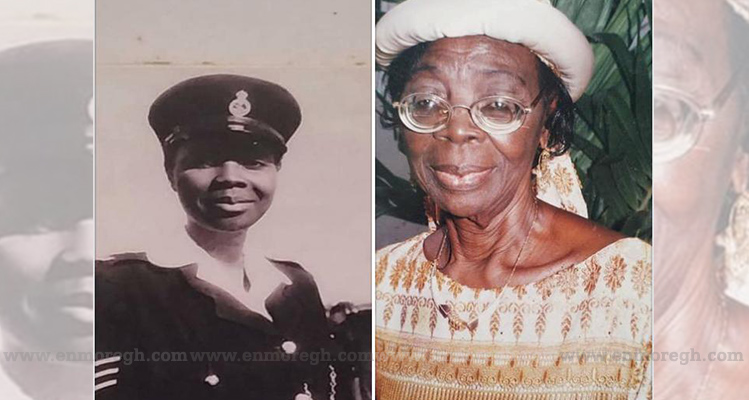 Meet Ghana's 1st female police officer
