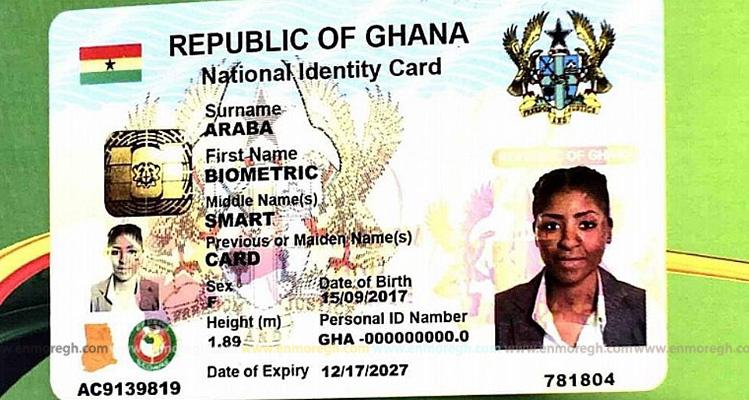 No Ghana Card No Salary